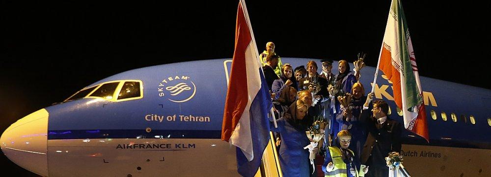 Iran Aims to Become Regional Air Transit Hub