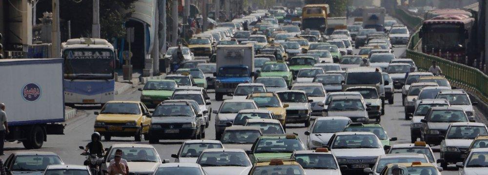Vehicles Dominate Iran's Import Basket