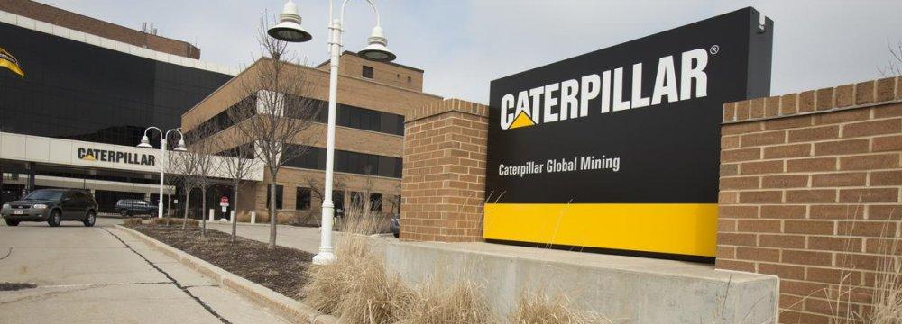 Caterpillar Posts Lower Earnings