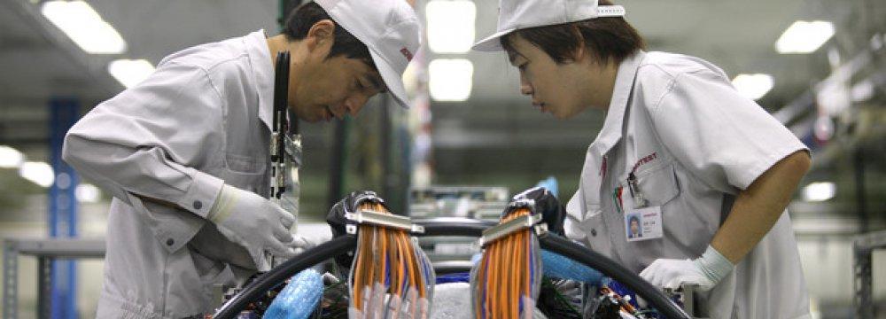 Japan Manufacturers' Mood High