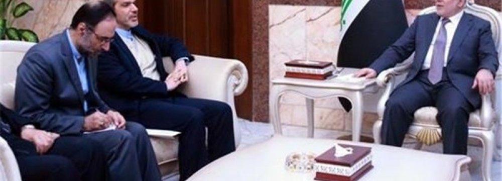 Envoy Meets Iraqi PM