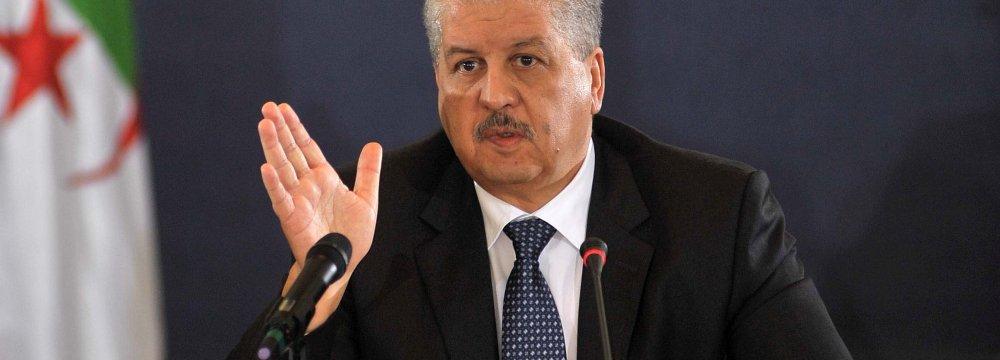 Algeria Urges Implementation of Bilateral Deals