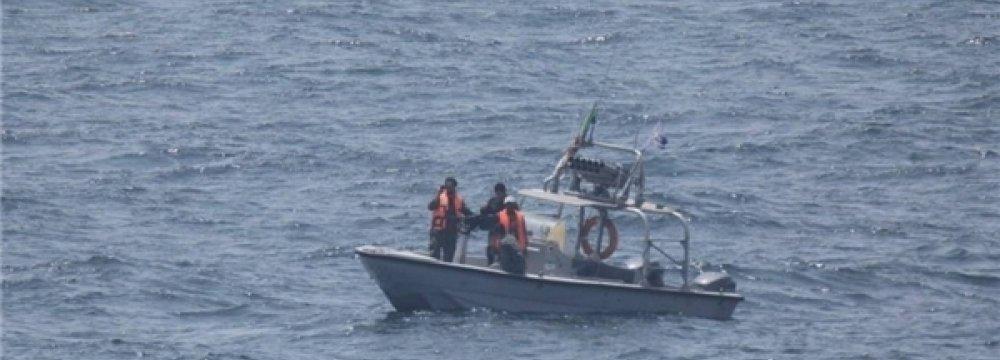 Naval Patrol Near US Warship Downplayed