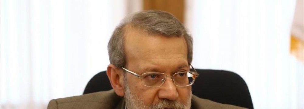 Larijani: Extremists Aim to Divide Afghans