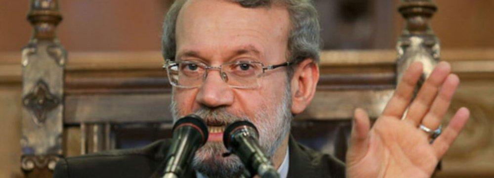 Larijani Outlines Development Model