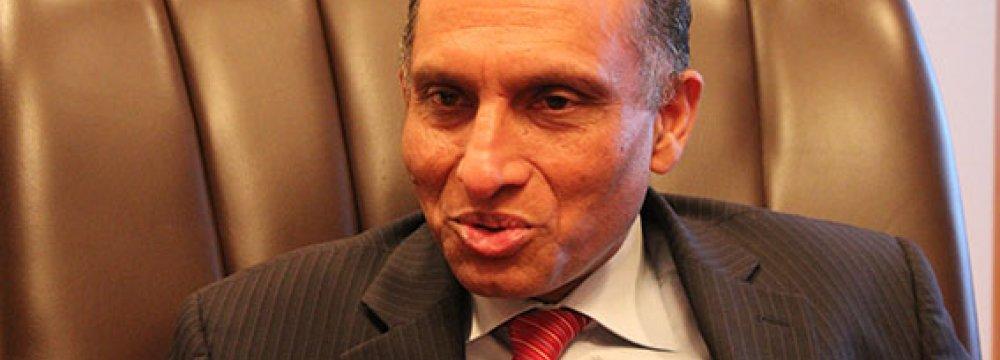 Senior Pak Diplomat in Tehran