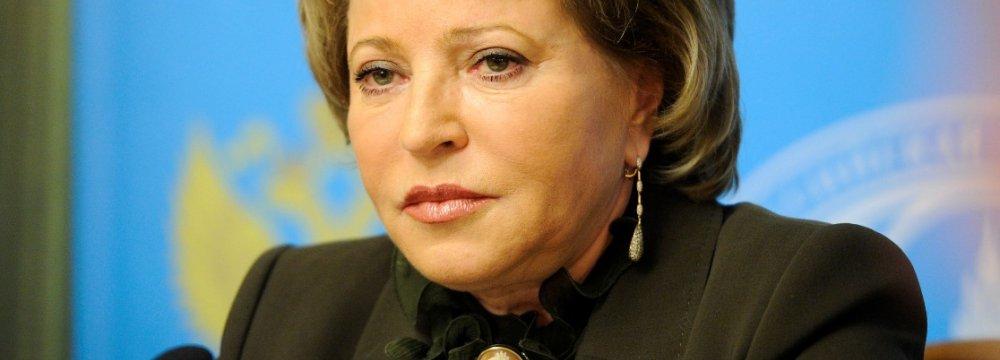 Russian Speaker  to Visit