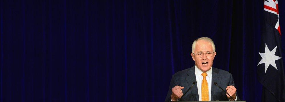 Australian  Premier Claims Election Win