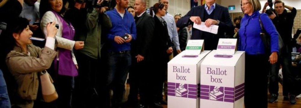 Australia Election Too Close to Call
