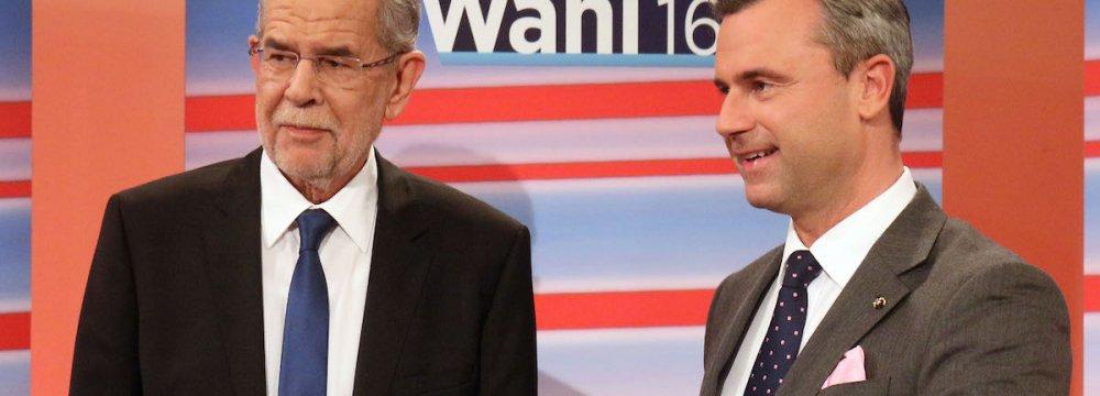 Absentee Votes to Decide Austria Election
