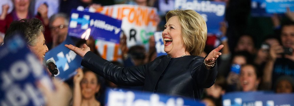 Clinton Clinches Final Victory in D.C.
