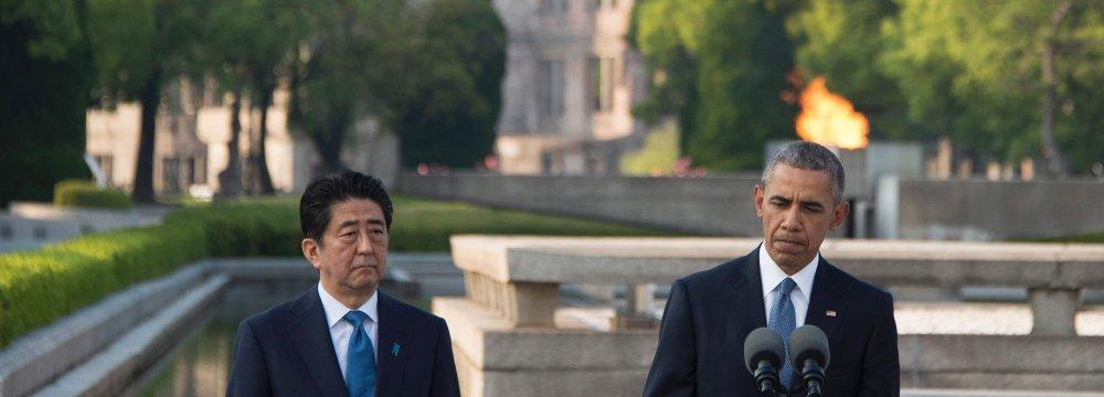 Obama Visits Hiroshima to Ponder Terrible Force Unleashed