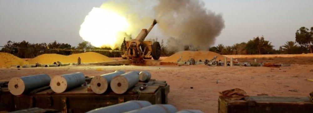 US Warplanes Bombed IS Targets in Libya