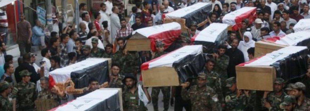 Iraq Hangs 36 IS Militants  for 2014 Massacre