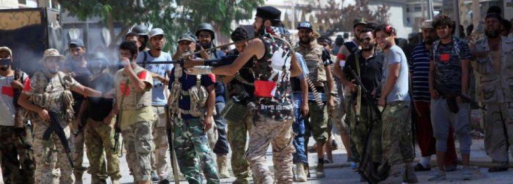 Libyan Troops Die Battling IS in Sirte