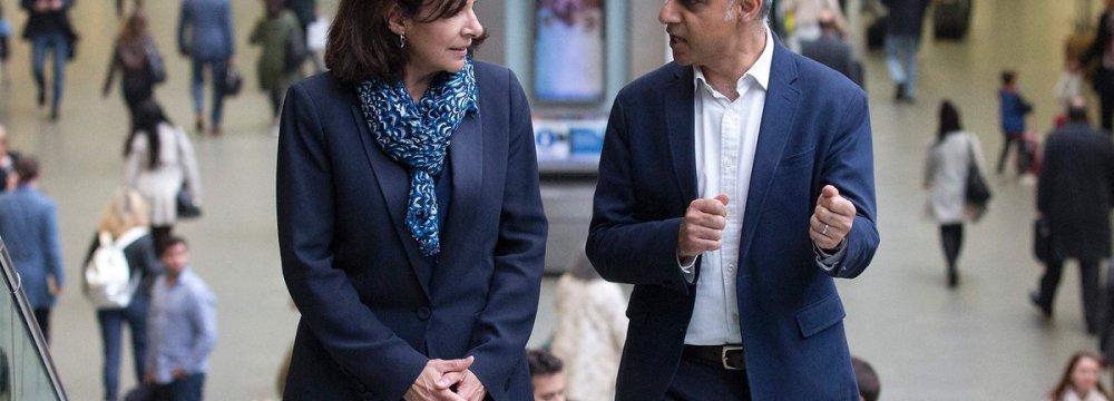 History-Making Mayors Meet in London