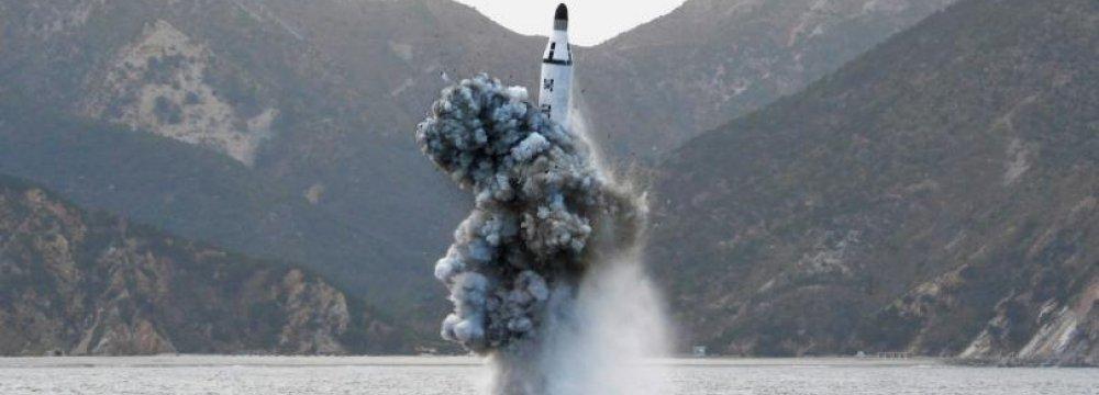 N. Korea Missile Launch Fails