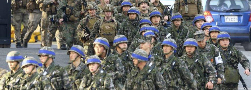 S. Korea, US, Japan Plan Joint Drills