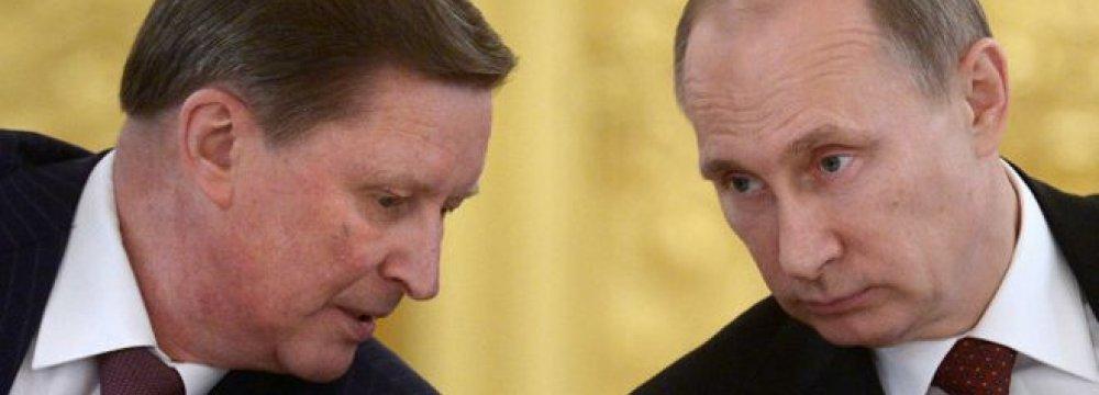 Kremlin Reshuffle