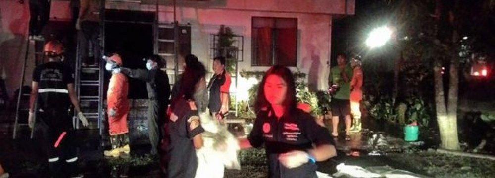 Thai Dormitory Fire Kills 17 Schoolgirls