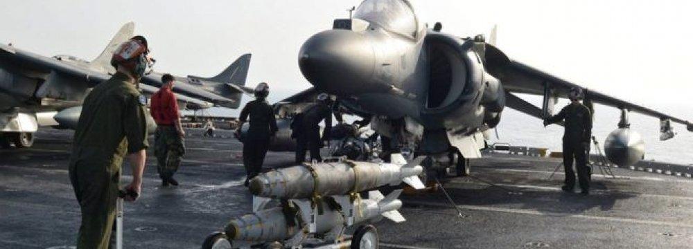 US Diplomats Press for Strikes on Syrian Gov't