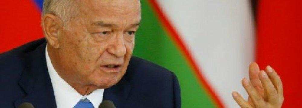 Uzbek President in Intensive Care After Brain Hemorrhage