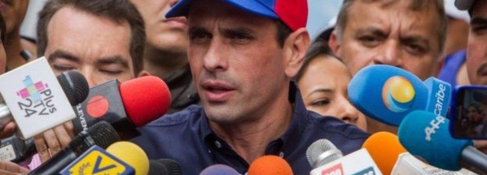 Venezuela Starts Validating Recall Referendum Signatures