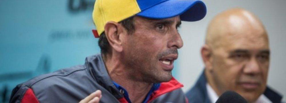 Venezuela Sets Recall Referendum Timetable, Infuriates Opposition