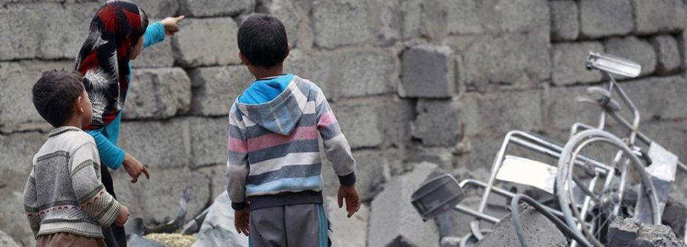 Saudi Airstrike on Yemen School Kills 10 Children
