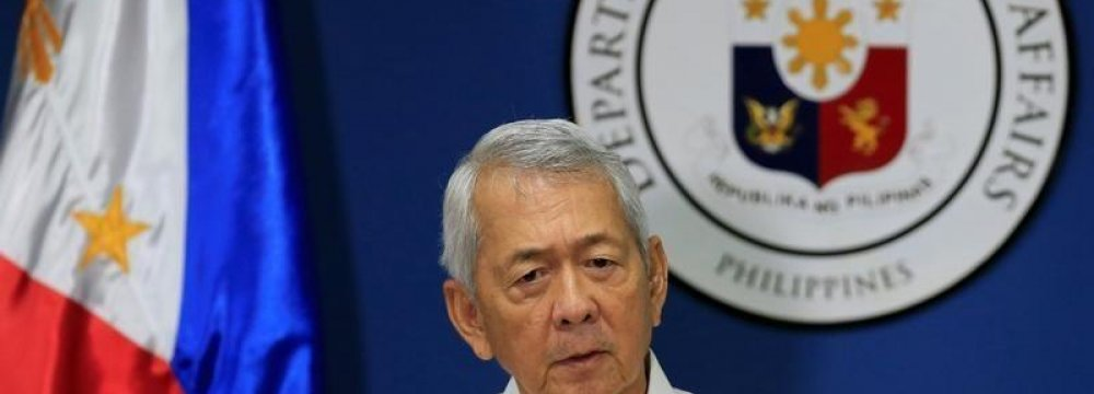 Philippines Rejects Dialogue on S. China Sea Dispute