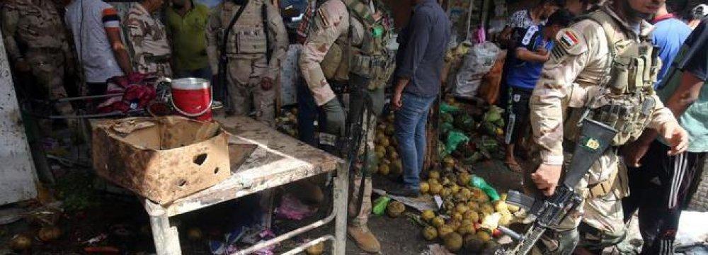 8 Dead in Baghdad  Bomb Attacks
