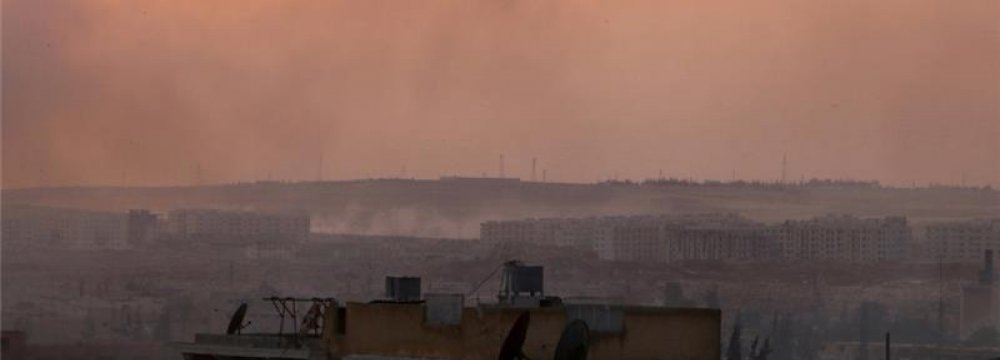 "Militant-Held Areas of Aleppo ""Completely Besieged"""