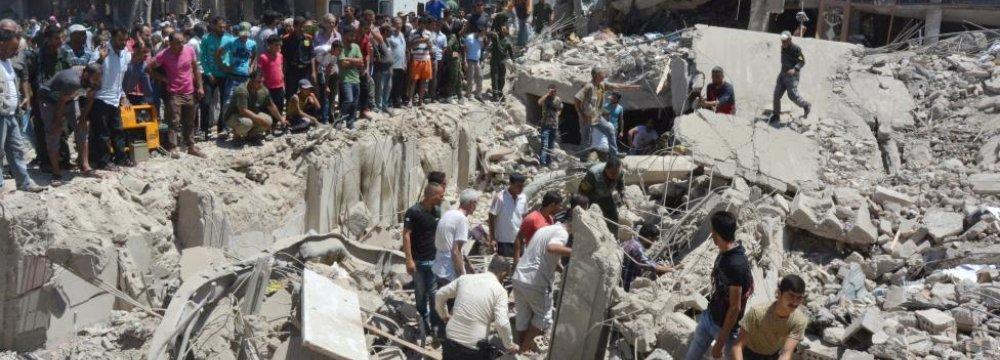 Truck Bomb Blast Kills Dozens in Northeast Syria
