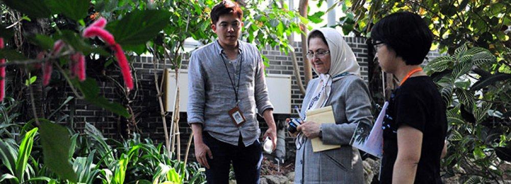 Tehran, Seoul Initiate Joint Botanical Research