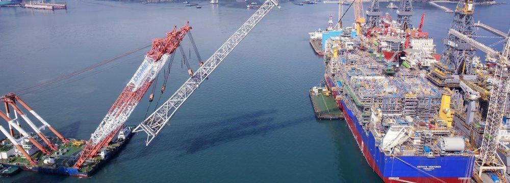 S. Korean Shipbuilder Makes Inroads Into Iran