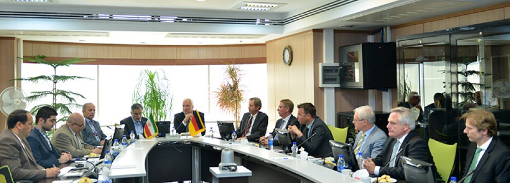 Germany's North Rhine-Westphalia Delegation in Tehran