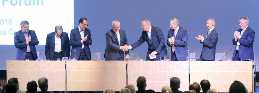 Iran Trade Mission Lands in Sweden