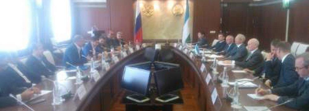 Markazi Province Delegation in Bashkortostan
