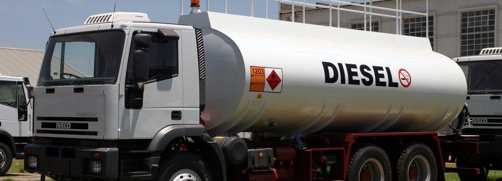 Iran's Diesel Exports at Record High
