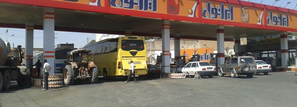 Iran's Gasoline Consumption to Rise