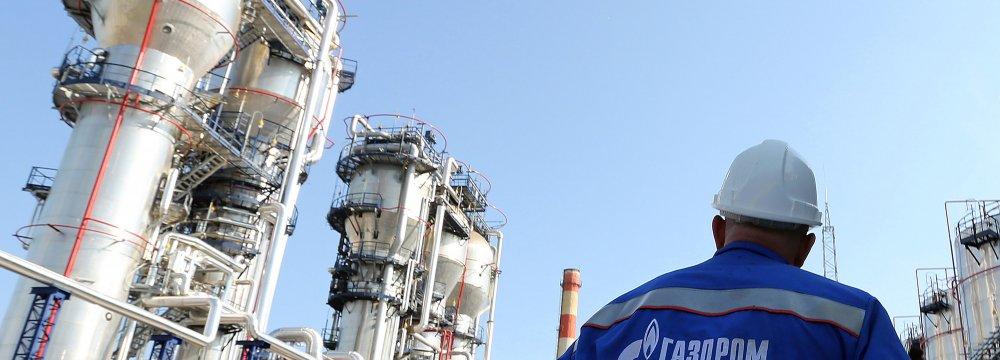 Gazprom Keen on Iran Gas Liquefaction Ventures