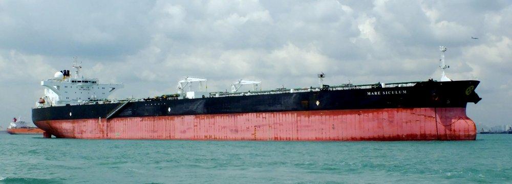 Iran Boosts Oil Shipment to European Customers