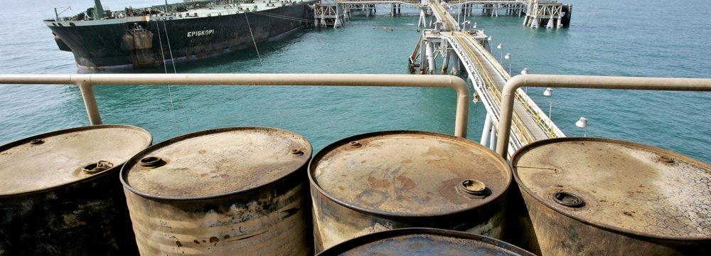 Iranian Crudes Trading at $44-46 pb