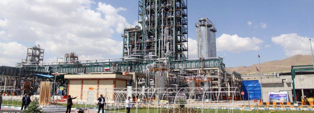 Mahabad Petrochemical Complex Inaugurated