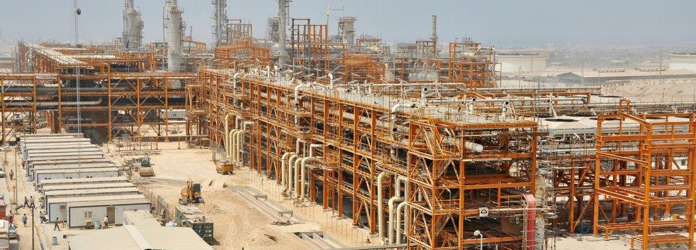 SP Rich Gas Output Exceeds 400 mcm/d
