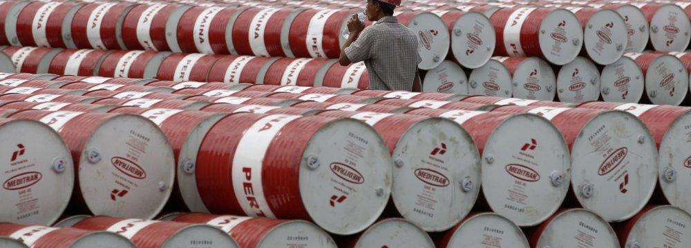 Saudi Crude Oil Stockpiles Drop to 18-Month Low