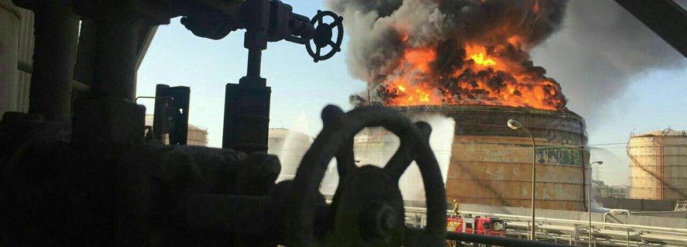 IIC Assessing Petchem Fire Damages