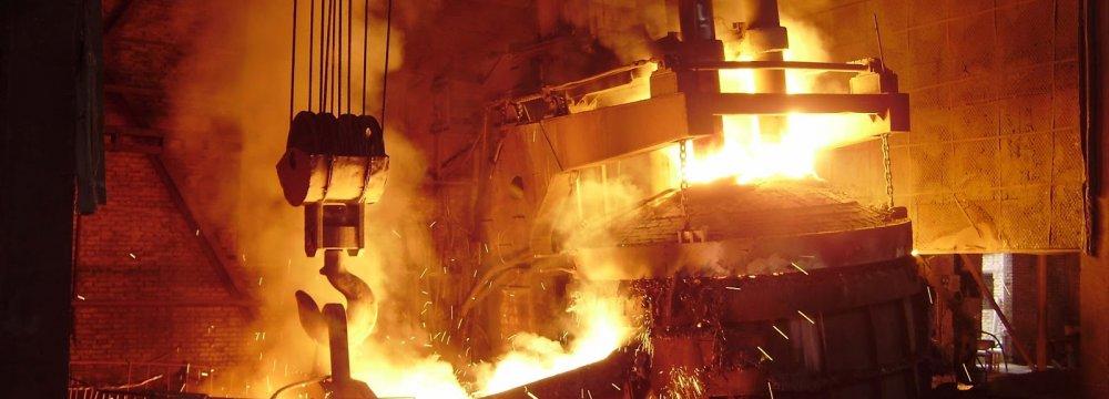 Iran World's 13th Largest Steelmaker