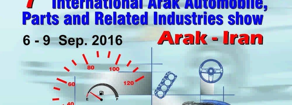Arak to Host  Int'l Auto Expo