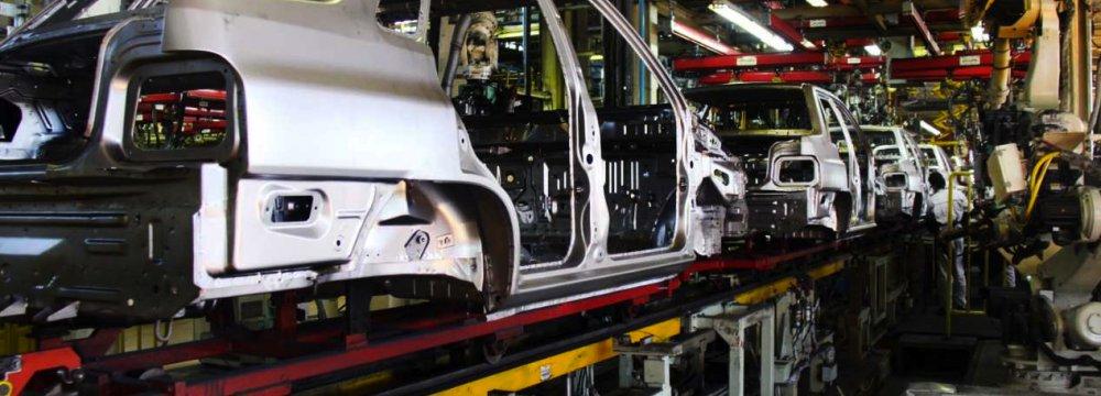 Iran's Auto Production Rises in Q1